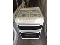White CANNON Fully Working Very Nice Digital Gas Cooker with 4 Month Warranty