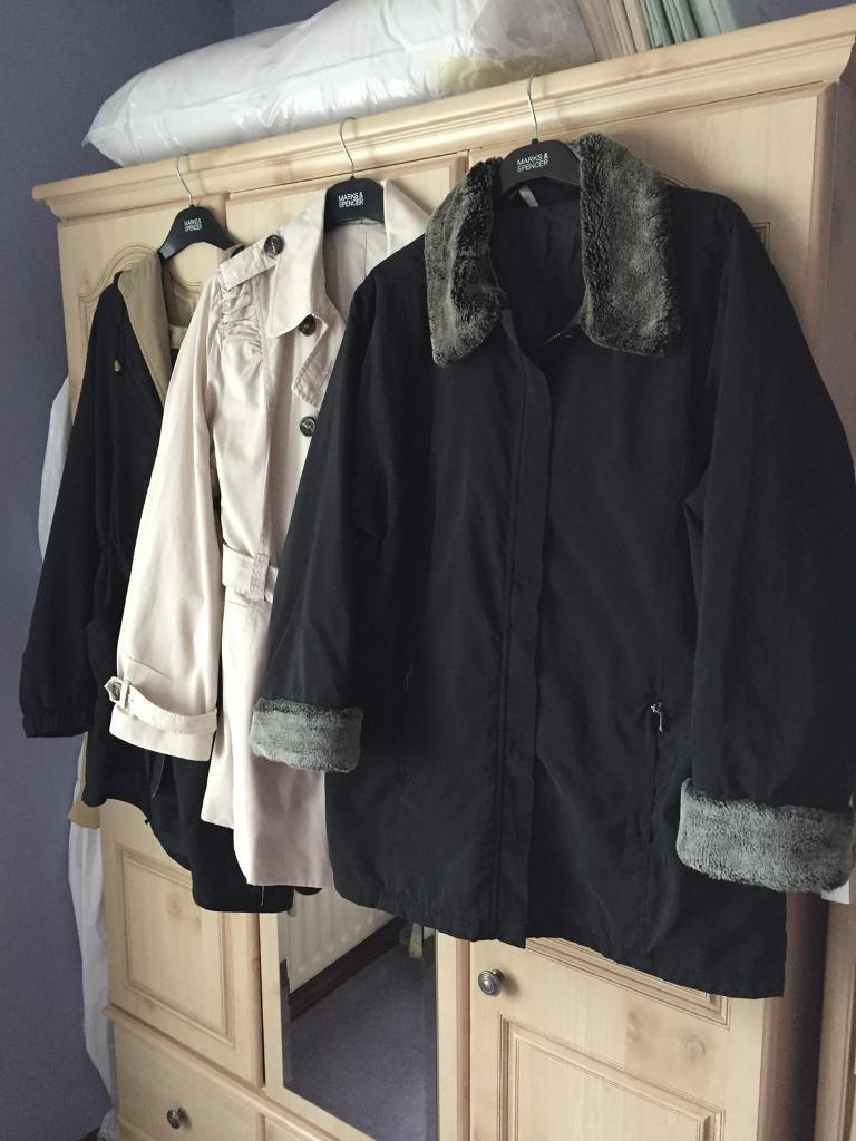 3 Ladies Coats - (PRICE IS FOR ALL BUT I WILL SELL SEPARATELY)