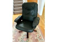 Anderssons of Sweden leather recliner arm chair