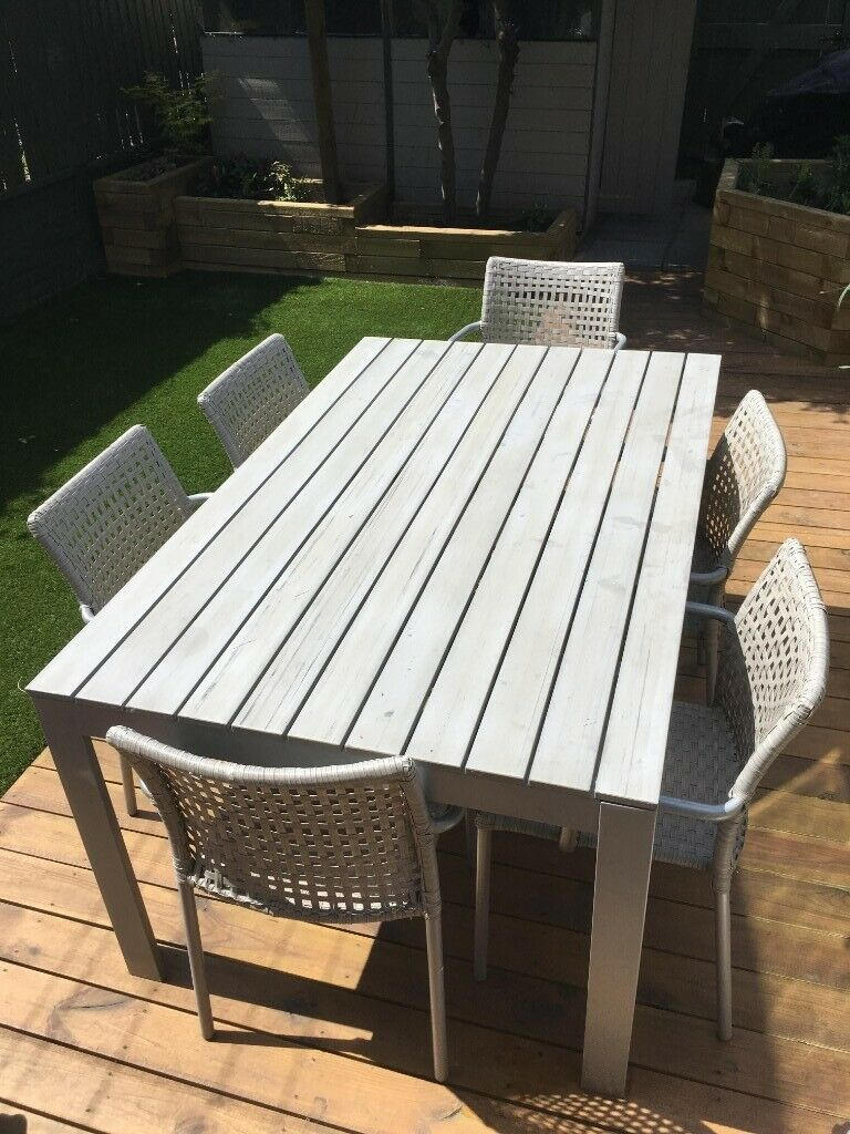 Garden Outdoor Dining Table And