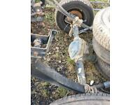 2012 ford transit t350 rear axle with springs
