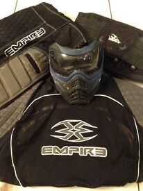 Empire Paintball Gear + VForce Mask