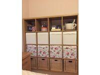 Ikea Kallax Storage Shelving unit