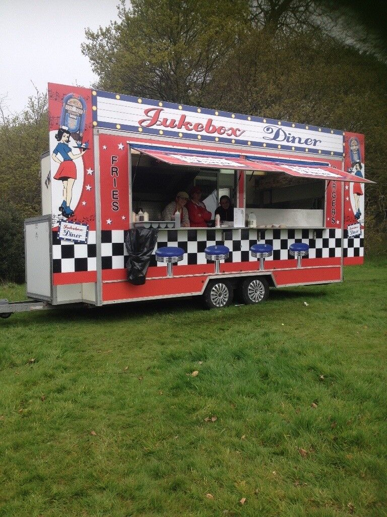 5Star Catering Trailer for sale.