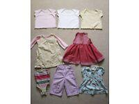 Girls summer clothes bundle, 6-9 months