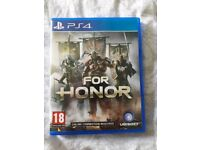For honour, ps4 game
