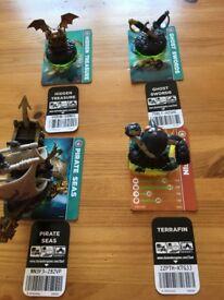 Skylanders Spyros adventure figures set