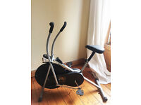 Excellent condition V-fit ATC1 Air Cycle - Exercise Bike