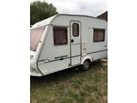 Abi sprinter 4 berth light weight only 750kg rare with mover Awning 2001