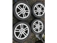 Audi q3 s line alloy wheels 18 inch