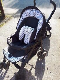 Silver Cross 3D Pram and Car Seat Special Edition - complete travel system