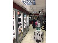 Retail and buy -back business for sale.