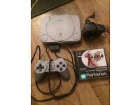 PlayStation 1. Fully working with 1 game.