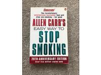 Allen Carrs Stop Smoking Book