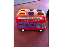 Baby shapes bus