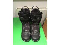 Salomon Faction Boa Snowboard Boots, size UK12.5/30.5cm