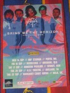 Bring Me The Horizon - 2016 Australian Tour -  Laminated Tour Poster