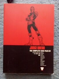 JUDGE DREDD complete case files 01 - 'Sands of Ammon' - £9 both together - accept reasonable offers