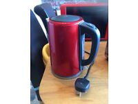 Red kettle & toaster