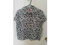 Mickey mouse shirt size 12