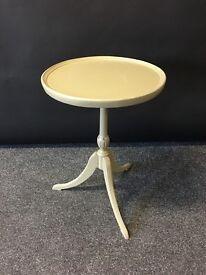 Upcycled Vintage Green Side End Table