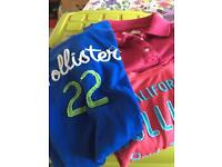 Hollister t-shirts