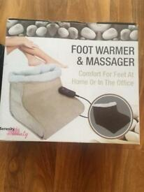Brand new Foot warmer and massager