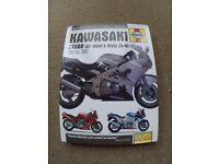 Haynes Workshop Manual for Kawasaki ZZR 600