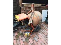 Belle 150 electric cement mixer, with transformer.