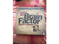 Brand New and Unopened Brain Factor DVD game