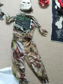 Mummy fancy dress / Halloween costume aged 5 - 6 years
