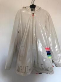Billie blush raincoat age 10