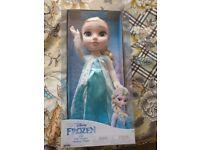 Frozen Elsa toddler doll