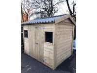 Garden Shed/Irish Cottage Shed 8x6