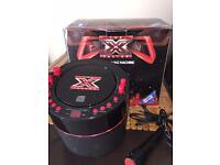 Xfactor karaoke machine with cd