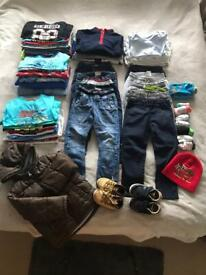 2-3 years baby Boy clothes bundle