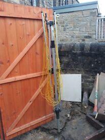 4 arm rotary washing line.