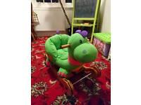 Baby rocking horse - dinosaur