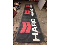 Haro Bikes Show Banner, Race Meetings, BMX Clubs