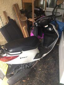 Moped 125cc 2013 plate . Yamaha Vity