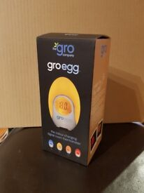 Gro Company - Gro Egg Baby Thermometer and Night Light with Percy Penguin Egg Shell £5