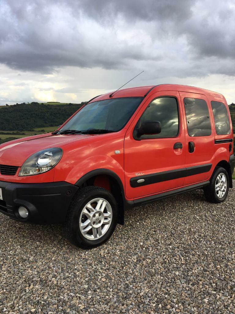 renault kangoo van 4x4 1 9 dci low miles in dingwall. Black Bedroom Furniture Sets. Home Design Ideas