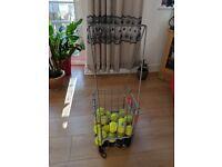Gamma tennis ball basket