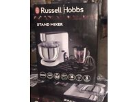 RUSSELL HOBBS LARGE STAND MIXER DAMAGE PACKAGING FULLY WORKING TESTED