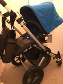 Bugaboo Cameleon 2 stroller pram pushchair with accessories