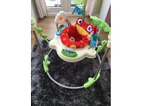 Fisher price rainforrest jumperoo excellent condition