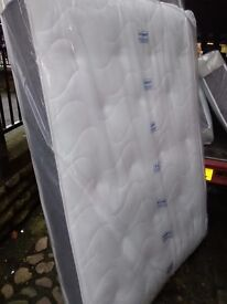 Luxury 4ft6 double mattress. Dual sided, memory foam, cool touch cover. Free delivery