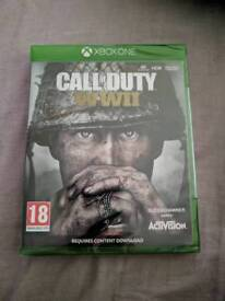 Call of Duty WWII Brand new and sealed Xbox One