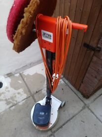 Jeyes Hygeine Floor Buffer With 3 Pads...used