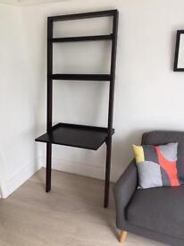 Wooden Desk and shelves for sale